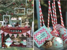kara s party ideas winter mint holiday christmas dessert