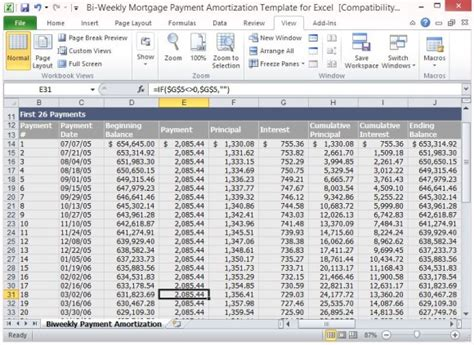 amortization formula excel template loan payment spreadsheet template pccatlantic