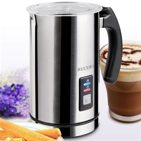 Fujicom Electric Milk Frother What Is The Best Electric Milk Frother And Steamer You Can