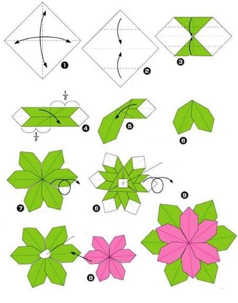 How To Make A Small Origami Flower - origami flower tutorials android apps on play