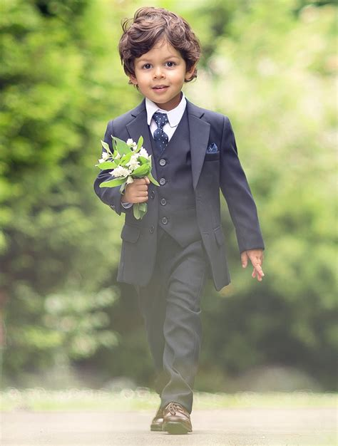 Wedding Attire For Baby Boy by Baby Boys Navy Suit Baby Boys Wedding Suit Baby Boys