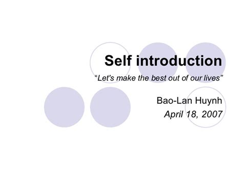 self introduction powerpoint template self introduction