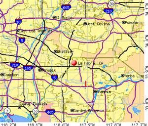la habra california map la habra california ca 90631 profile population maps