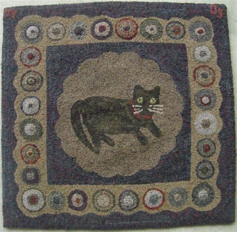cat rugs 45 best images about cat and hooked rugs on