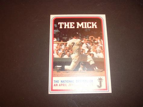 walden book ebay walden books mickey mantle quot the mick quot best seller