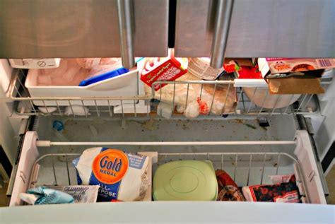 How To Organize Bottom Freezer Drawer by How To Organize A Bottom Freezer