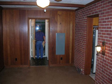 can you paint wood paneling how to paint wood paneling young house love