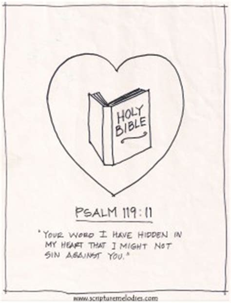 printable version of psalm 119 coloring pages scripture melodies