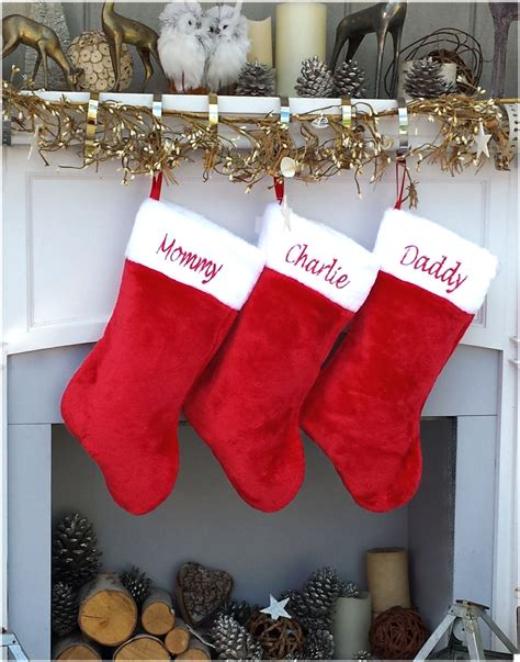 twenty five days of christmas minu stocking on a rope from crackabsral sale personalized