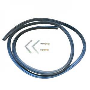Westinghouse Cooktop Spare Parts Universal Oven Door Seal Gasket 3 Sided With Clips Chef