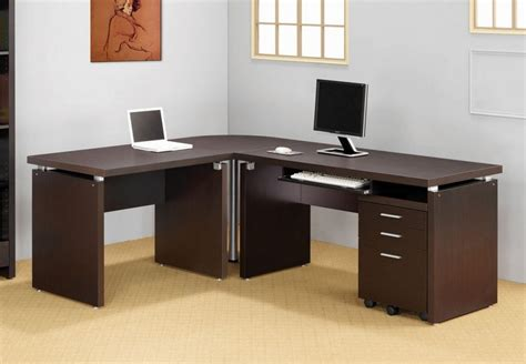 The Most Modern L Shaped Desk Home Office Furniture Ciplad Contemporary Desks Home Office