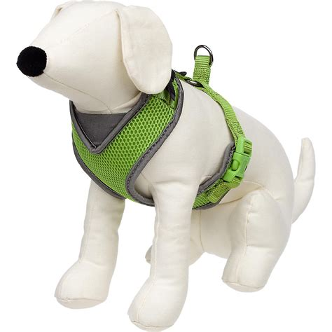 puppy harness petco petco adjustable mesh harness for dogs in green gray ebay
