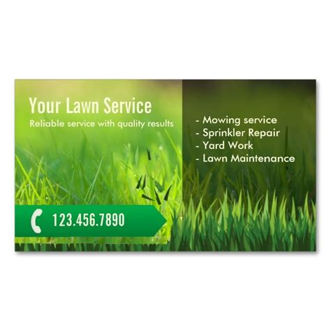 gardening business cards templates 1976 best images about gardener business cards on