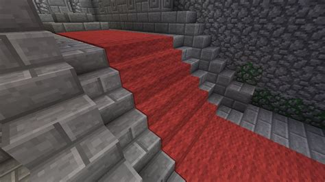 Minecraft Stairs Design Minecraft Carpeted Stairs