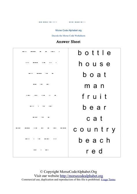 printable alphabet quiz morse code worksheet worksheets releaseboard free