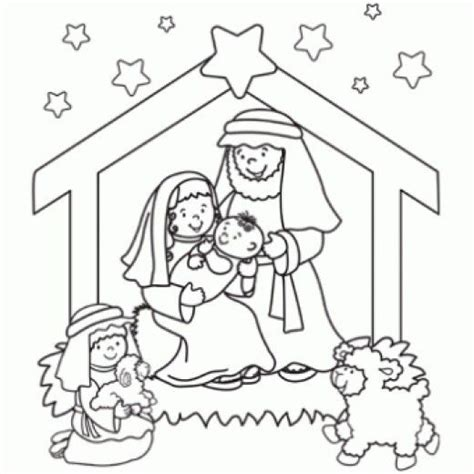 coloring sheet of nativity scene online christmas nativity printables christmas nativity