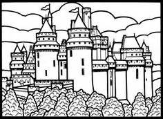 edinburgh castle coloring page edinburgh castle colouring page st andrew s day