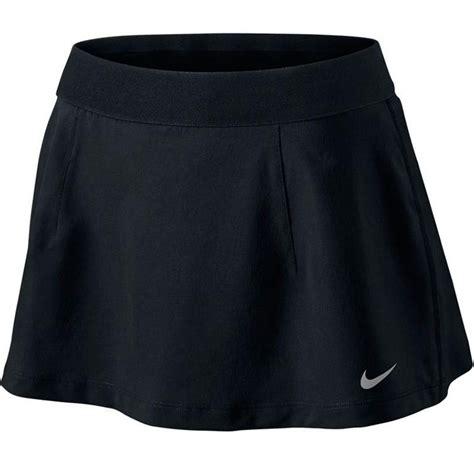 nike slam s tennis skirt black