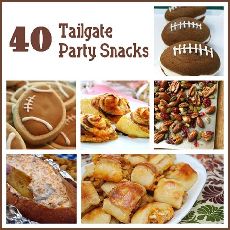 40 tailgate party snacks six sisters stuff