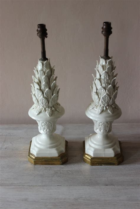 Antique Ceramic Table Ls by Pair Of Ceramic Table Lights Table Lights