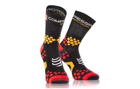 Compressport Pro Racing Socks V3 Bike Black compressport socks pro racing socks v2 1 trail socks black alltricks