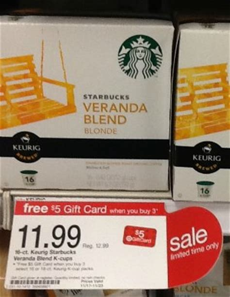 Starbucks Gift Card Deals Costco - target unadvertised gift card deals starbucks k cups 0 41 each vidal sasson hair