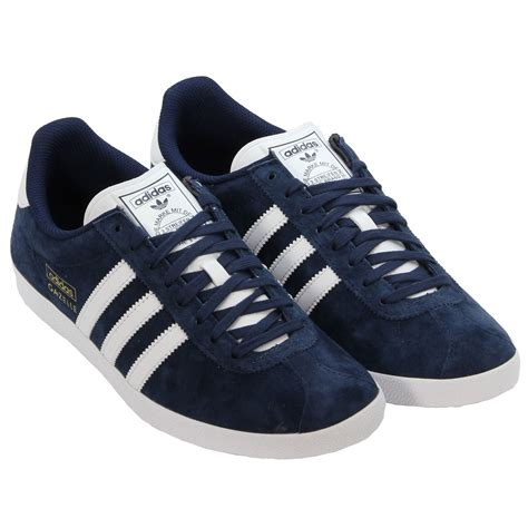 adidas originals gazelle og navy trainers trefoil sizes