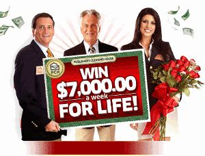 Who Won The 7000 A Week For Life Pch - contest win 7 000 a week for life