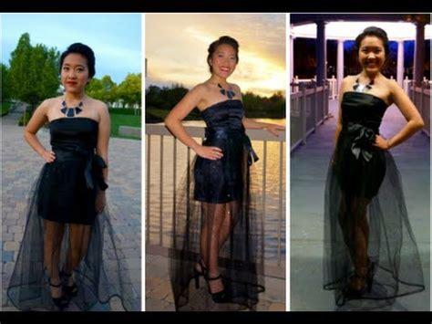 DIY Detachable Skirt Dress   YouTube