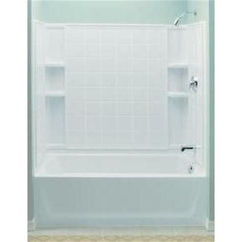 Stirling Plumbing by Sterling 71124100 0 Ensemble White Panels Tubs