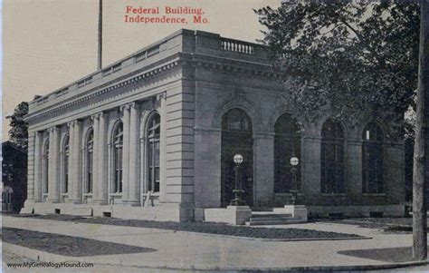 Post Office Independence Mo independence missouri u s post office and federal