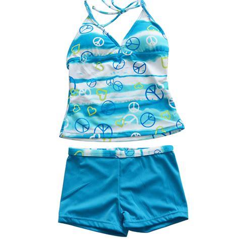Set Swim Swim Shorts tankini swimsuit swimwear tops shorts