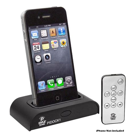 Iphone Ipod pyle universal ipod iphone station for audio output charging sync with itunes and