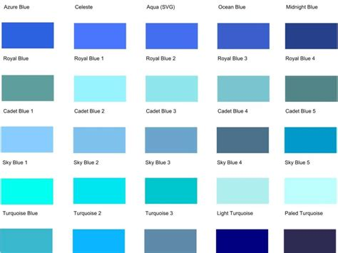colors of blue download shades of blue color slucasdesigns com