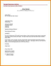 Business Letter Example Cc 5 Business Letter Cc Format Sales Clerked