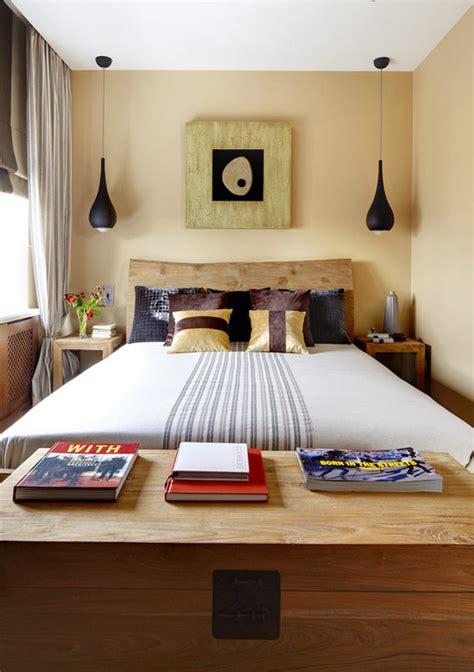 desain kamar hotel kecil memaksimalkan gaya dan desain pada kamar tidur mungil
