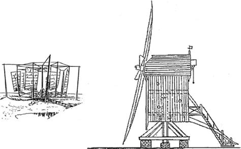 18th Century Sojourn Generic Post Mill