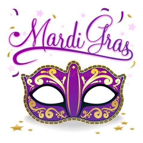 Mardi Gras Masks Clip by Mardi Gras Poster Stock Vector Illustration Of Celebrate