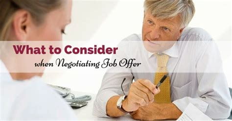 what to consider when negotiating a offer wisestep
