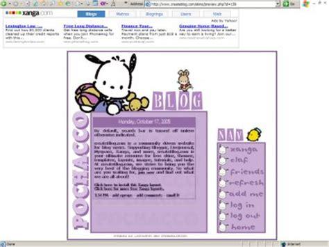 Xanga Search Purple Pochacco Xanga Layouts Createblog