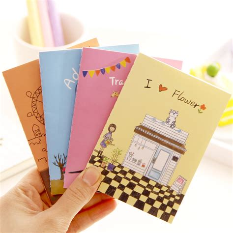 8 Fab Notebooks To Write In by 1 Pcs Planner Pocket Personal Diary