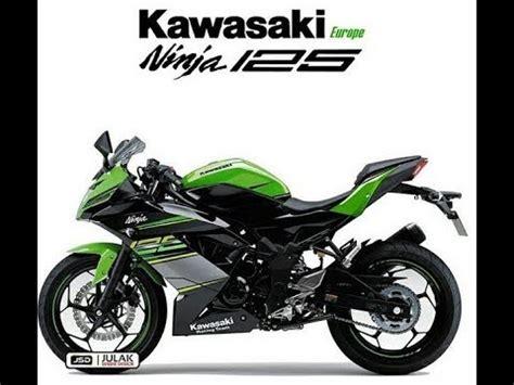 125cc Kawasaki by All New Kawasaki 125 2018