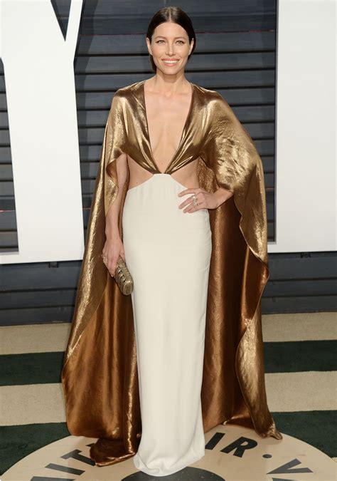 Subscribe Vanity Fair Jessica Biel At Vanity Fair Oscar 2017 Party In Los Angeles