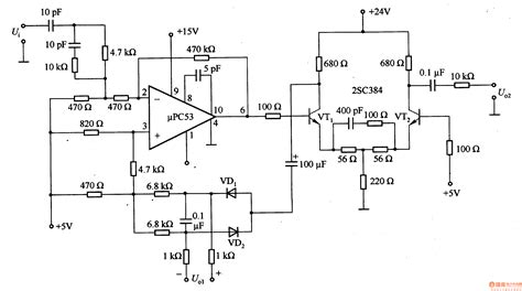 linear integrated circuits ic fabrication broadband linear detector circuit basic circuit circuit diagram seekic