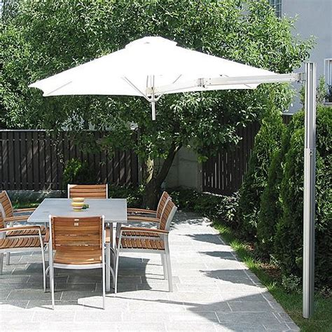 Frontgate Patio Umbrellas Paraflex Single Pole Mount Patio Umbrella Frontgate Traditional Outdoor Umbrellas By