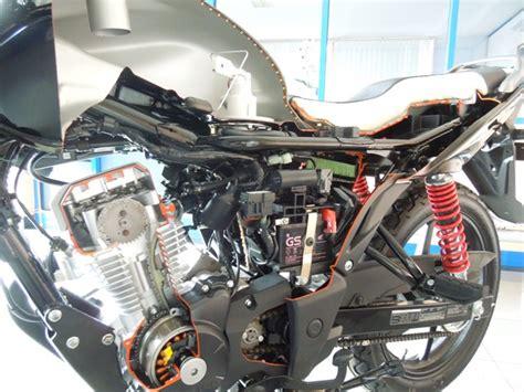Alarm Motor Honda Verza ngintip jeroan honda verza 150 boleh juga safety