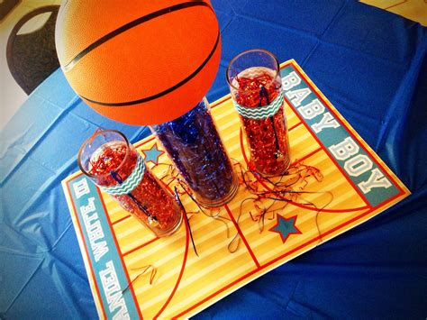 Basketball Baby Shower by Basketball Baby Shower Centerpiece Baby Showers By