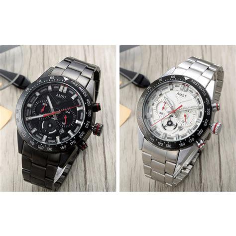 Jam Tangan Pria Jam Tangan Ripcurl R5190 Silver Baru amst jam tangan chronograph digital pria am3021 white silver jakartanotebook