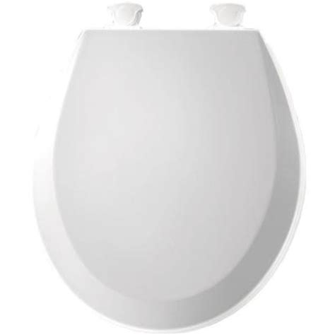 bemis lift closed front toilet seat in white