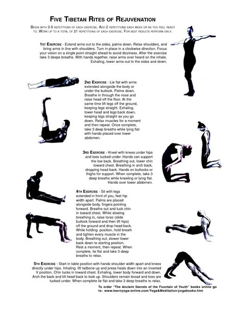 5 Tibetan Rites Detox Symptoms by Stay And Healthy By Doing These Ancient Tibetan